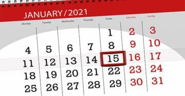 January 15 Deadline