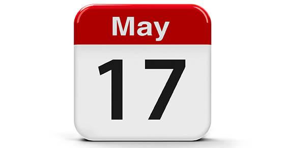 17th May